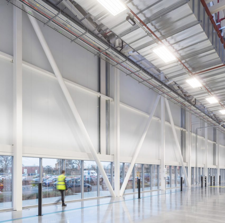 Jaguar Land Rover Engine Manufacturing Centre by Arup Associates