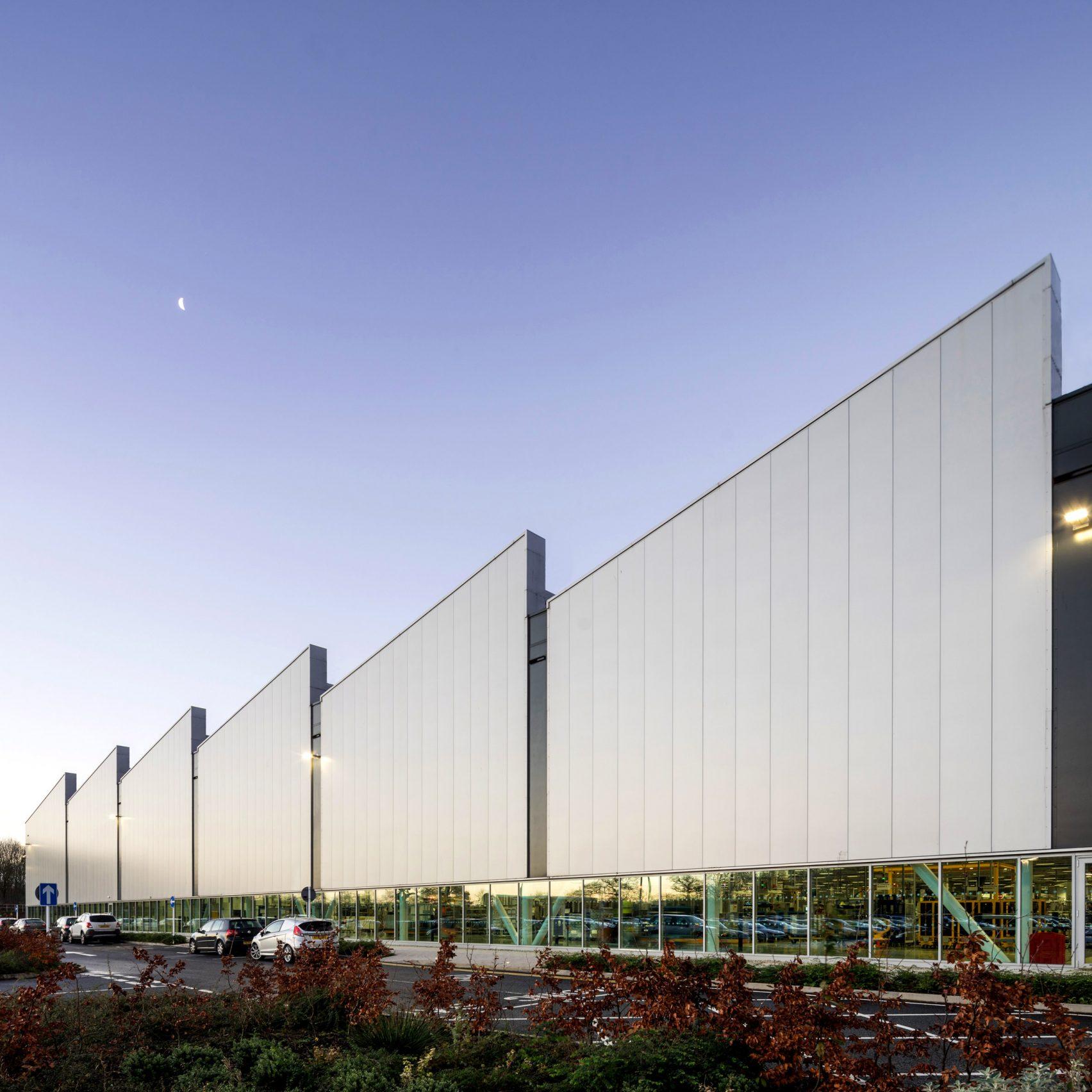 Jaguar Land Rover Engine Manufacturing Centre by Arup Associates