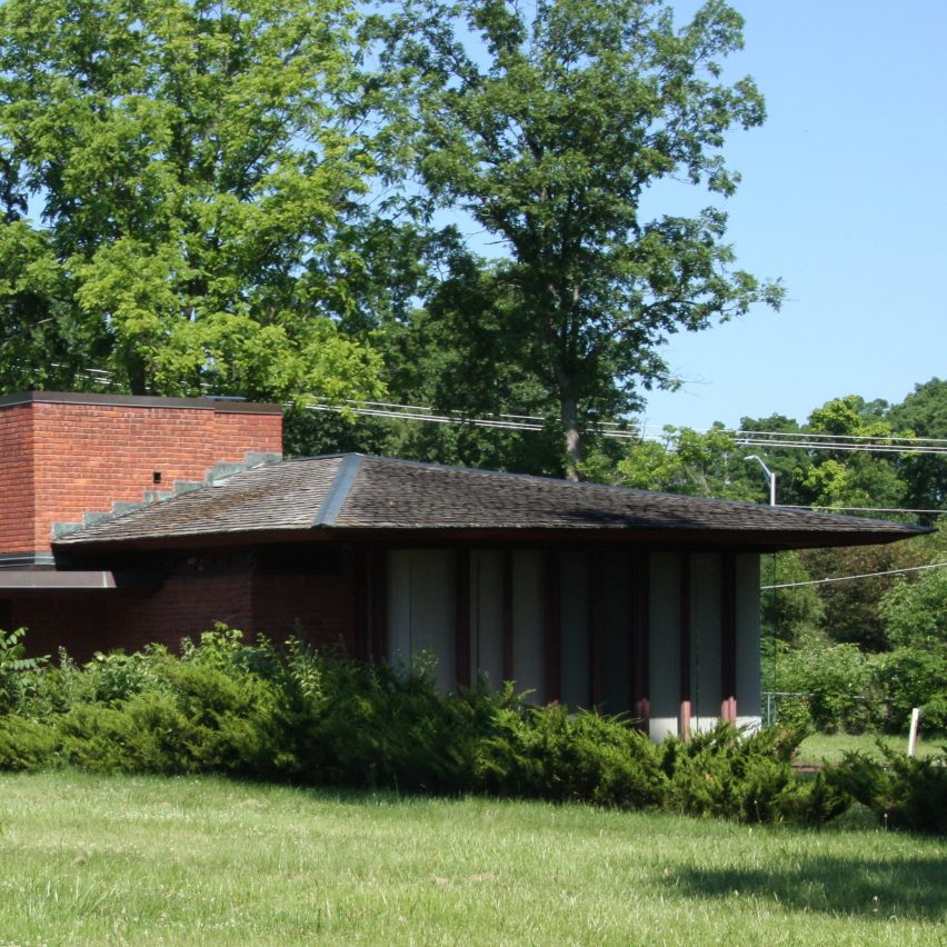 John D Haynes House by Frank Lloyd Wright, 1952