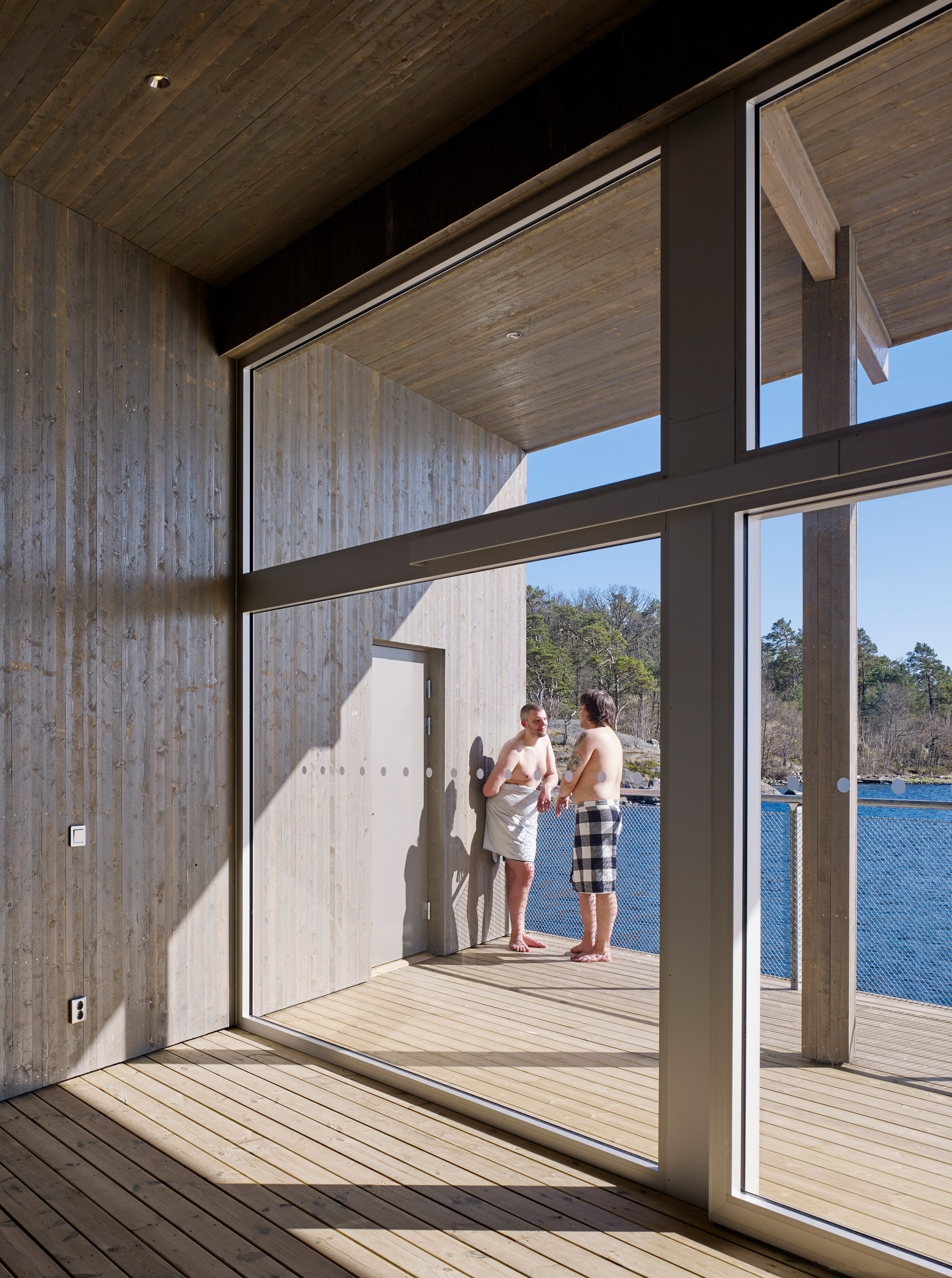 Karlhamn Cold Bath by White Arkitekter