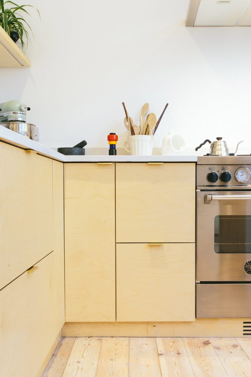 Kitchen by Plykea & Plykea hacks IKEAu0027s Metod kitchens with plywood fronts