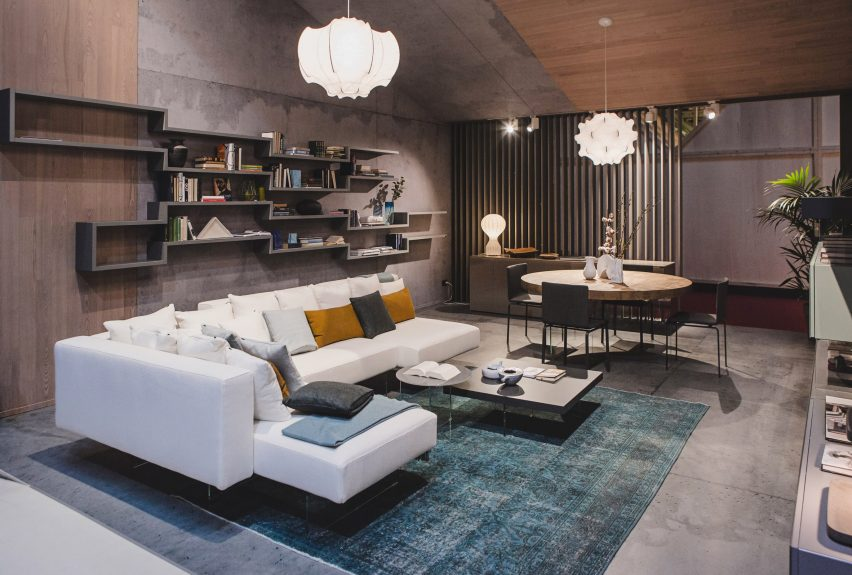 Lago models eight interiors after successful women and their kindness