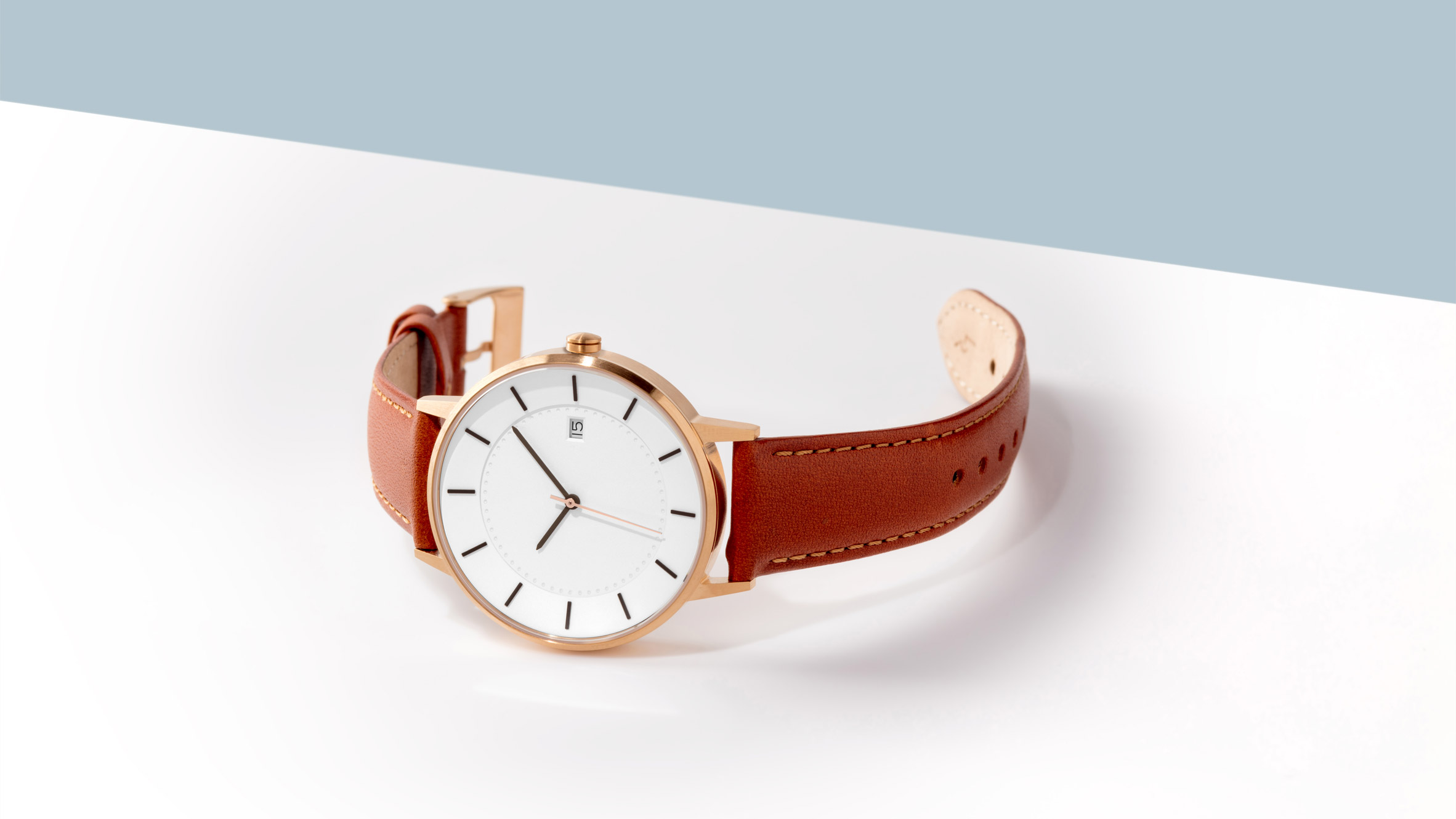 minimalissimo brown minimal stock watches angle