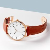 Compact versions of Linjer's minimal watches now available at Dezeen Watch Store