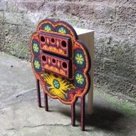 Tropel uses Mexican craft techniques to create colourful jewellery boxes