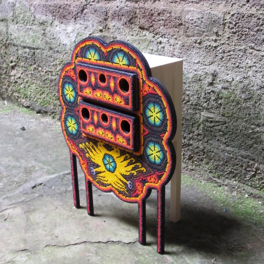 Los Wixarika jewellery boxes by Ana Jiminez