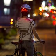 Award-winning Lumos smart bike helmet incorporates brake lights and indicators