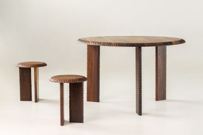 Mabeo furniture at Milan design week