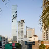 MahaNakhon Tower by Buro Ole Scheeren