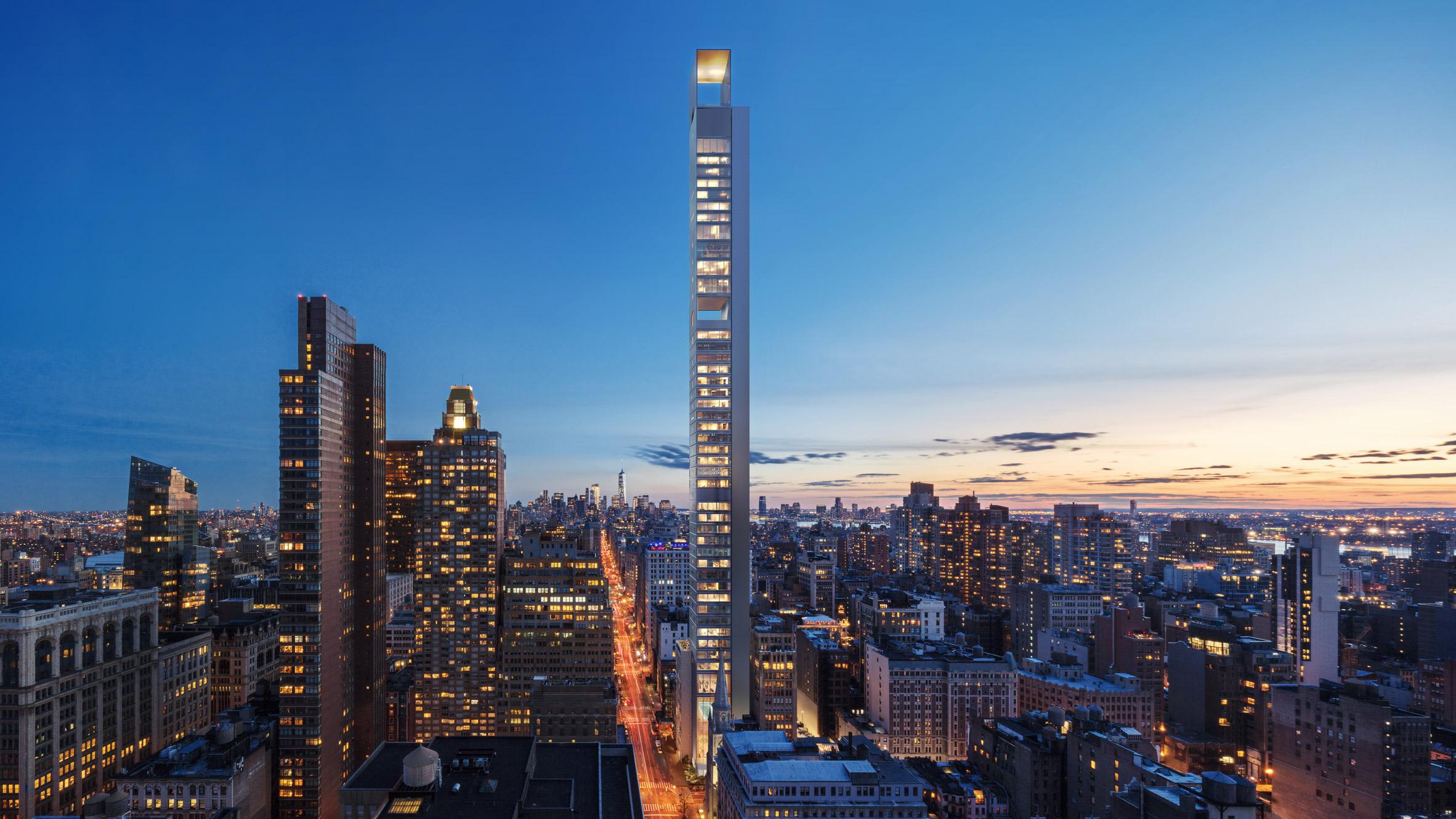 Meganom skyscraper