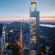 Skinny supertall tower by Meganom unveiled for New York