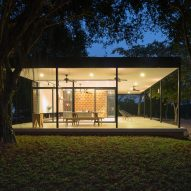 Idee Architects updates house on Vietnamese citrus farm with pavilion-like living space
