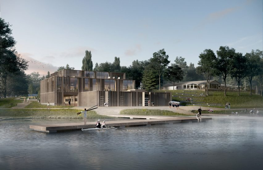 National rowing stadium by AART architects