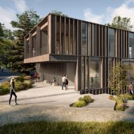 AART reveals designs for national rowing stadium in Denmark