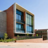 Nelson Mandela Children's Hospital combines concrete and brick with colourful details and big windows