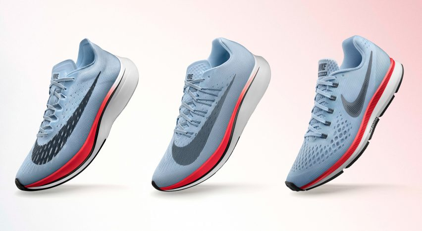 Three consumer versions of custom-engineered Nike trainers will be released  on 8 June