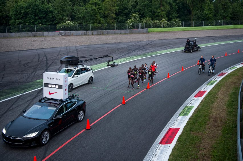 a65a59730c8c The Nike Breaking2 event took place at the Autodromo Nazionale Monza  racetrack