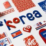 Snask rebrands North Korea as Love Korea with heart-focused identity