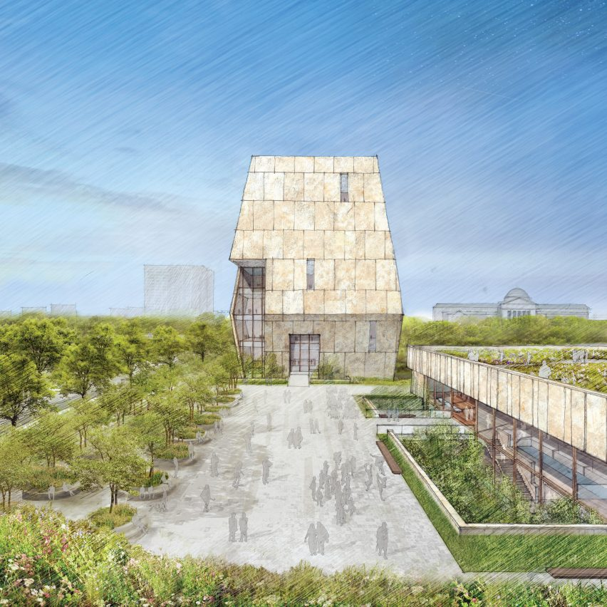 Obama Presidential Library concept design