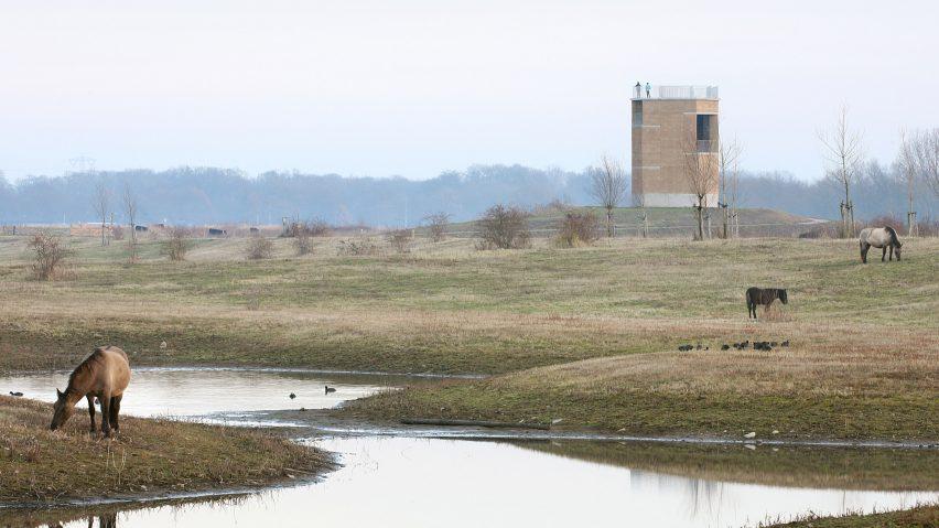 Observation Tower Negenoord by De Gouden Liniaal Architecten