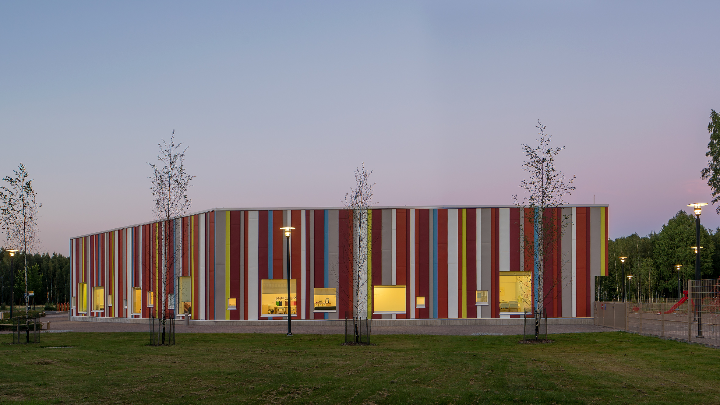Painiitty Daycare Centre in Espoo by AFKS Architects