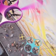 Carlo Ratti designs graffiti-painting drones to safely make multistorey artworks