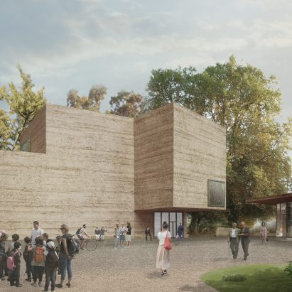Atelier Peter Zumthor's extension for Fondation Beyeler