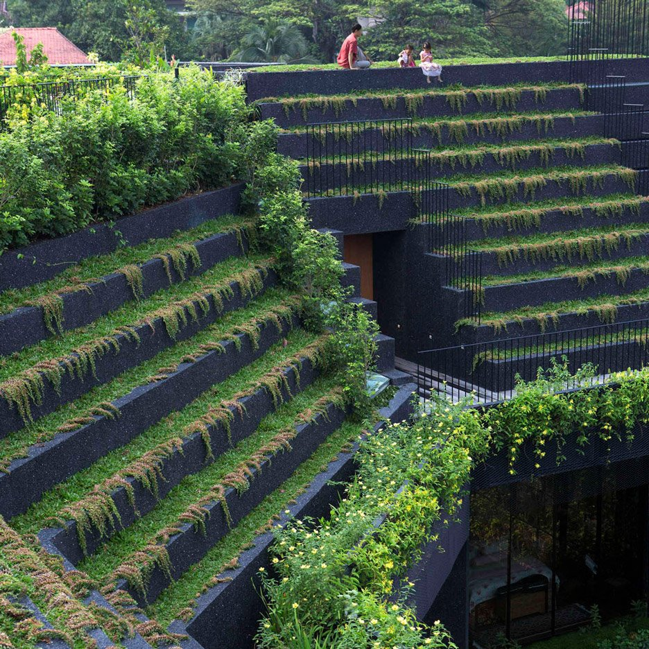 10 roof gardens from Dezeen's Pinterest boards that each provide an urban oasis