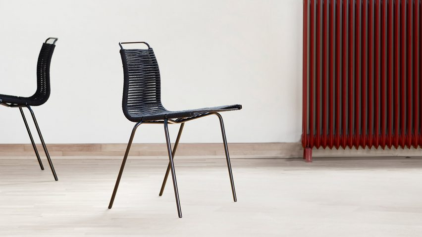 & Carl Hansen u0026 Son reissues Poul Kjærholmu0027s PK1 dining chair