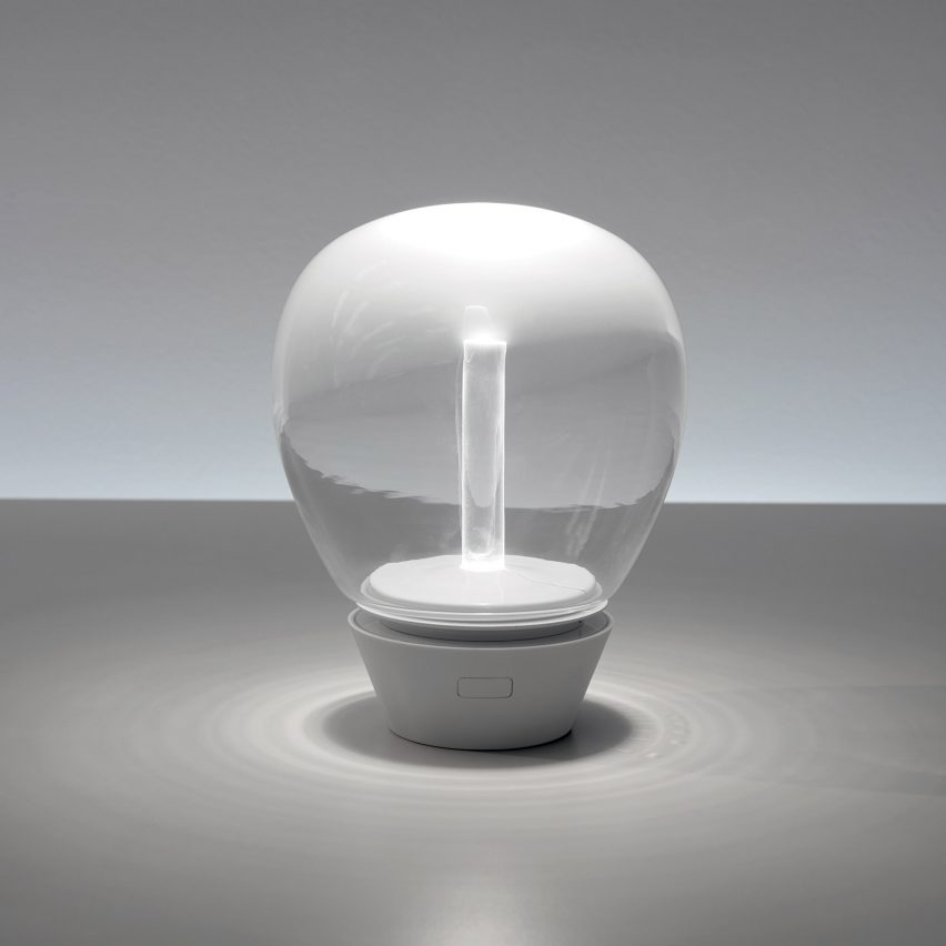 Portable lighting by Artemide