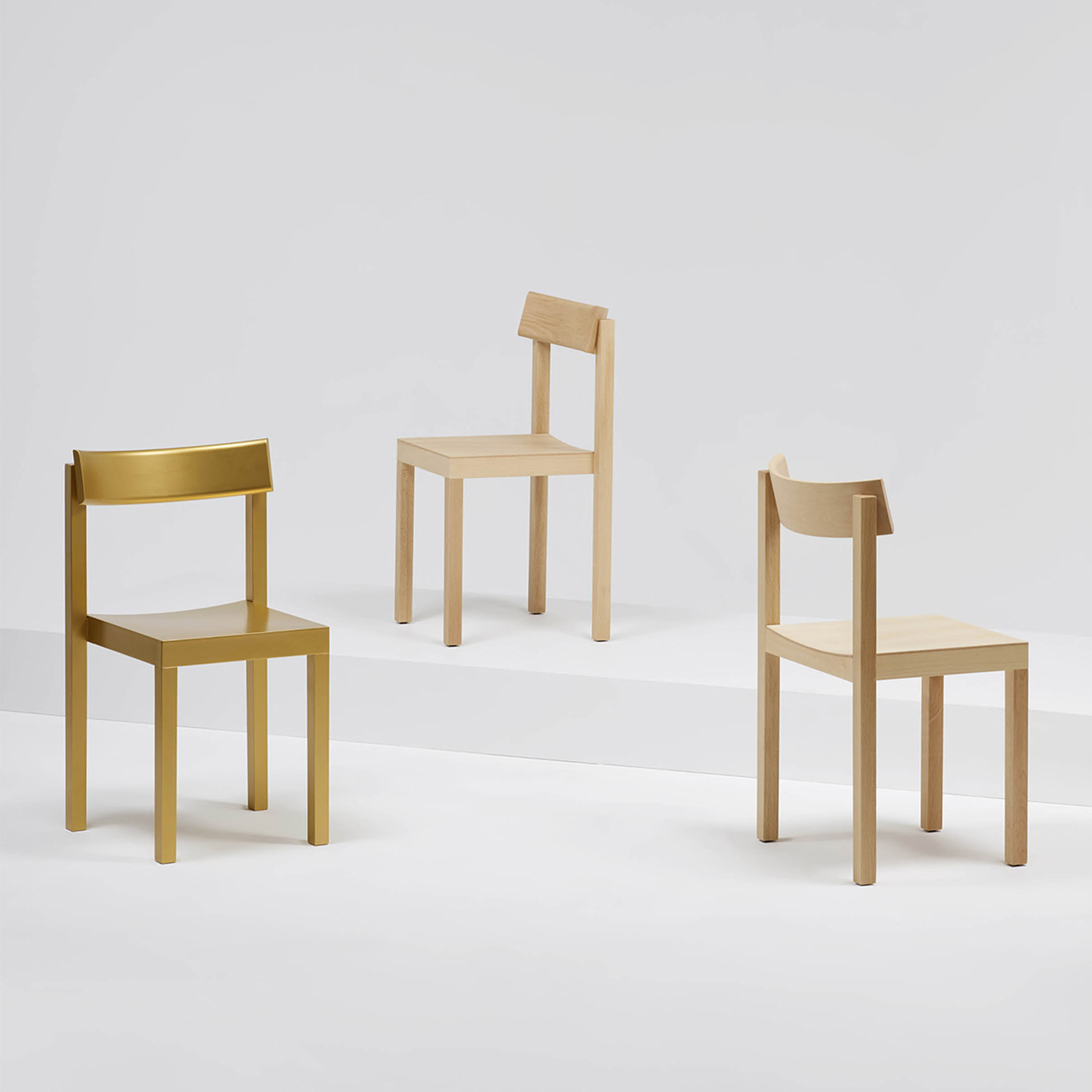 "Konstantin Grcic designs ""strictly vertical"" Primo chair for Mattiazzi"
