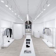 Omar Gandhi Architect creates minimal fashion store for Rchmnd in Halifax