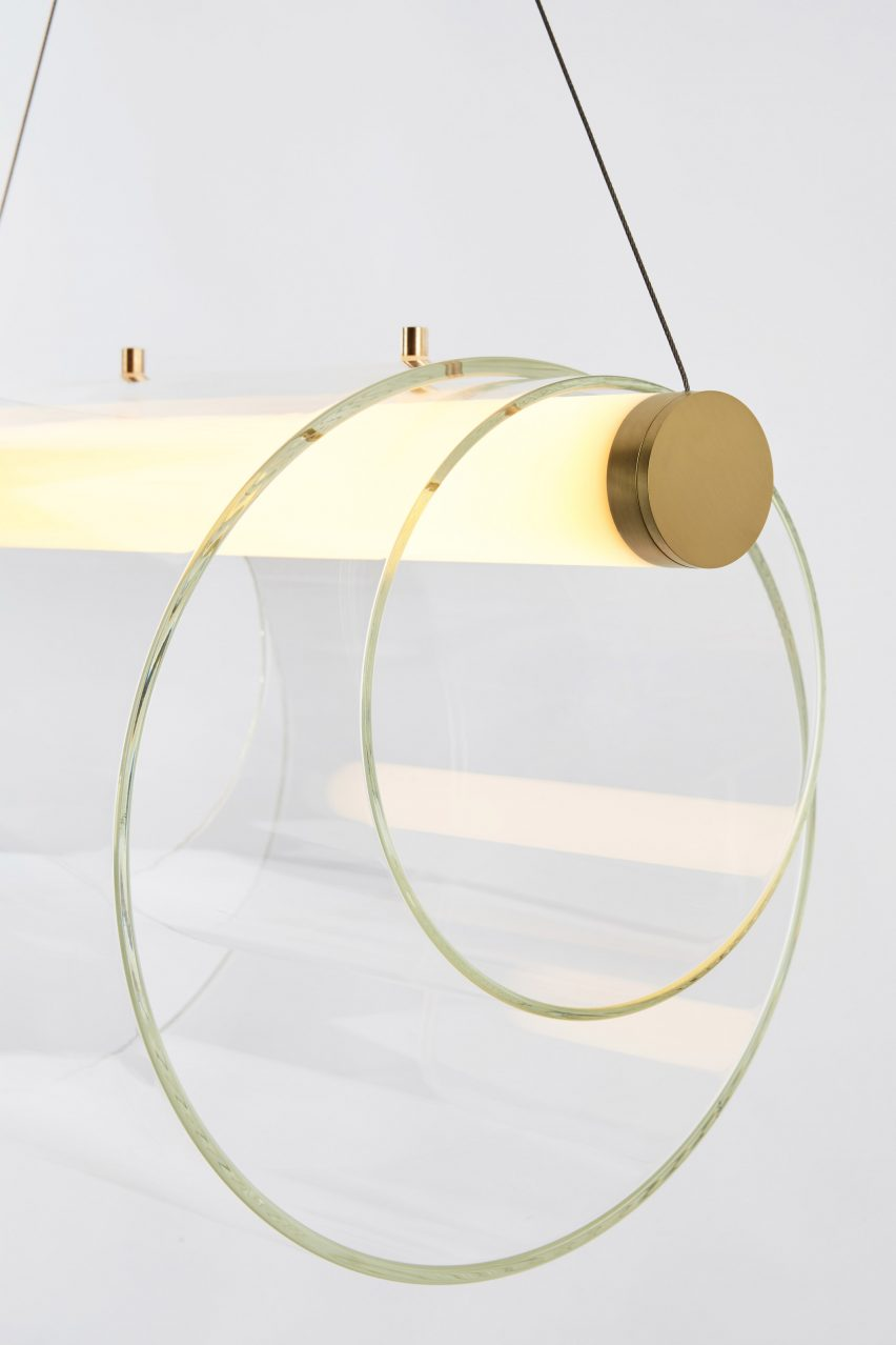 Coax by John Hogan - Roll & Hill 2017 lighting collection