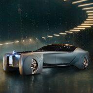 Rolls-Royce unveils its first driverless concept car design