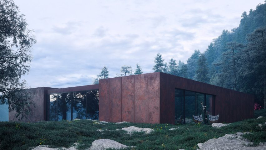 Rose House by Sergey Makhno