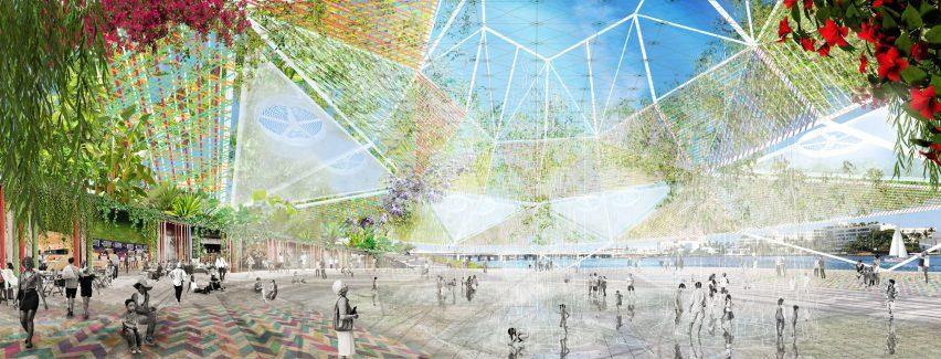 Ecosistema Urbano's winning proposal for Shore to Core