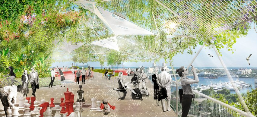 Ecosistema Urbano's winning proposal for Shore to Core