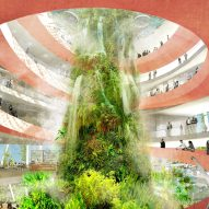 Ecosistema Urbano envisions bioclimatic domes for West Palm Beach