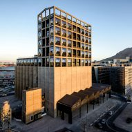 Luxury hotel opens inside Heatherwick's converted grain silo in Cape Town