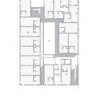 fourth floor plan for The Six by Brooks + Scarpa