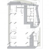 Ground floor plan for The Six by Brooks + Scarpa
