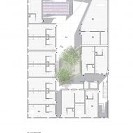 First floor plan for The Six by Brooks + Scarpa