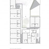Second floor plan for The Six by Brooks + Scarpa