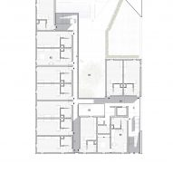 Third floor plan for The Six by Brooks + Scarpa