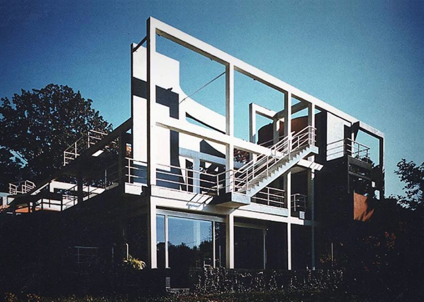 Snyderman House by Michael Graves, 1972