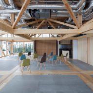 Substrate Factory Ayase by Aki Hamada Architects