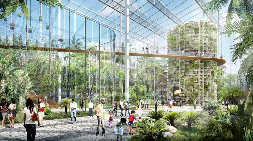Sasaki's plans for Sunqiao Urban Agricultural District in Shanghai