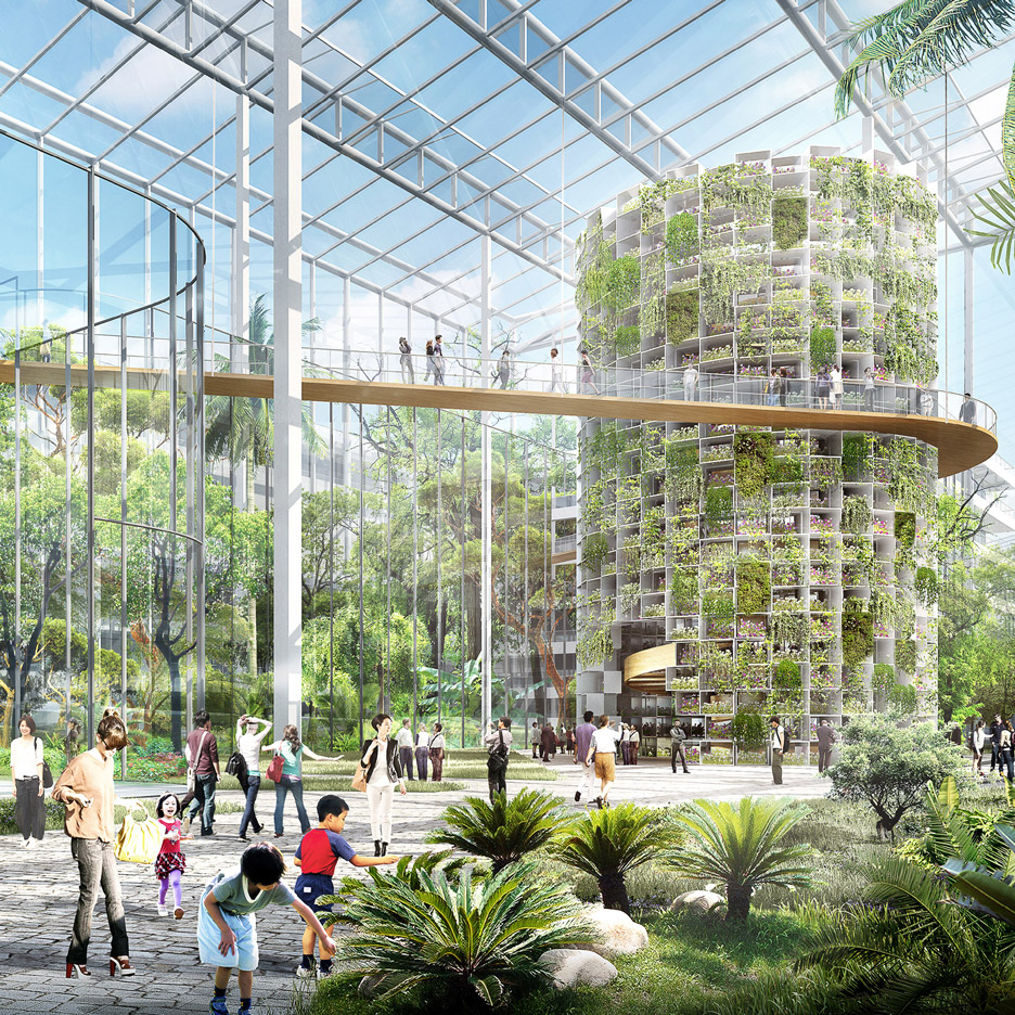 Vertical Farm Designed To Produce Food Amidst Shanghai 39 S