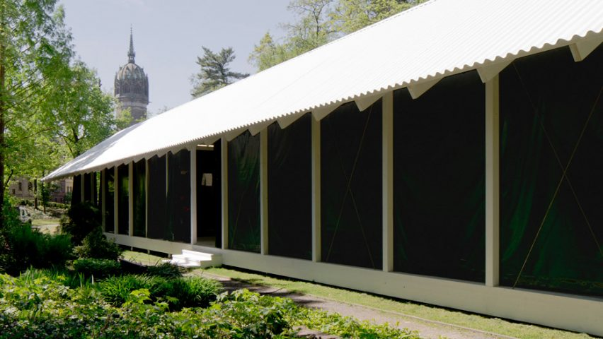 Swiss Reformation Pavilion by Christ & Gantenbein