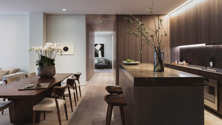 First apartment in Tadao Ando\'s 152 Elizabeth Street revealed